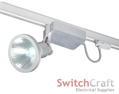 Switchcraft electrical supplies robus 150w carina metal halide track projector satin silver mozeypictures Choice Image